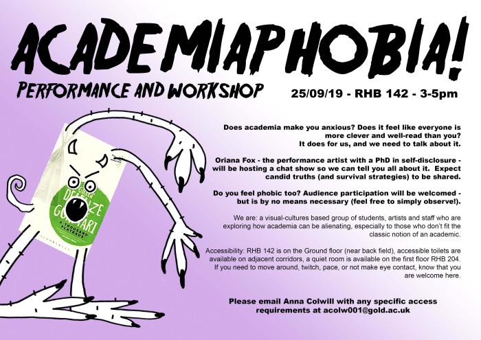 Academiaphobia-flyer