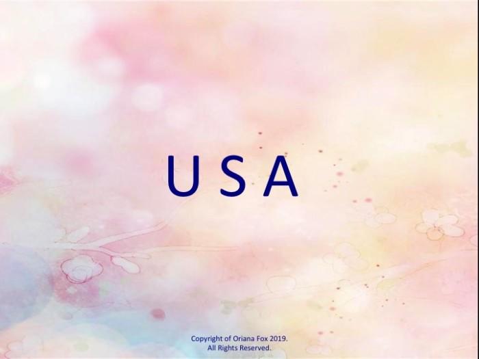 U S A.